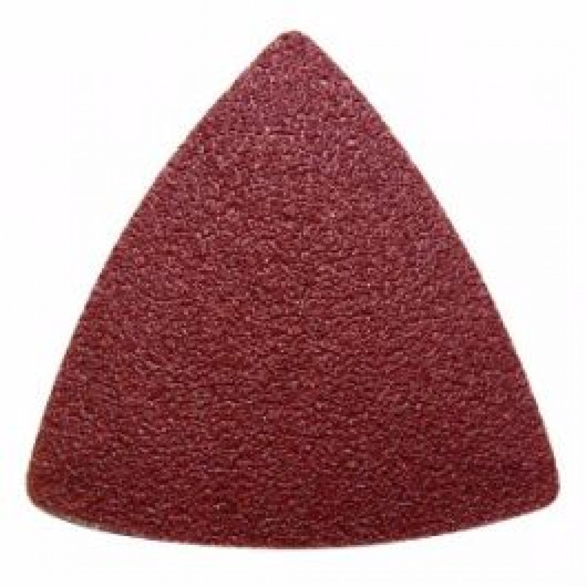 Hook And Loop Sandpaper >> 40 Grit Triangular Sanding Sheets - 5 Pack