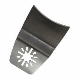 Flush Cut Concave Segment Knife Edge Scraper