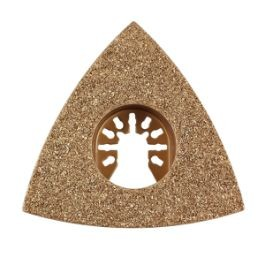 Flush Cut Triangular Quick Release Carbide Rasp