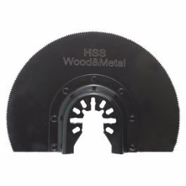 "4"" Flush Cut Segmented Circular Quick Release Saw Blade"