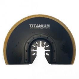 "4"" Flush Cut Titanium Segmented Circular Quick Release Saw Blade"