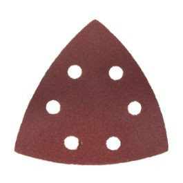 Large Triangular 120 Grit Sanding Paper - 6 Pack