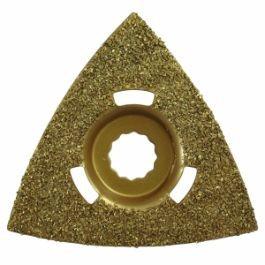 Flush Cut Triangular Rockwell SoniCrafter Fitting Carbide Rasp