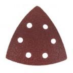 Large Triangular 60 Grit Sanding Paper - 6 Pack