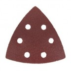 Large Triangular 80 Grit Sanding Paper - 6 Pack