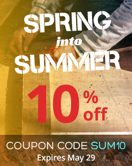 Spring into Summer - 10% off Storewide - Use coupon code SUM10 - Sale ends May 29, 2018