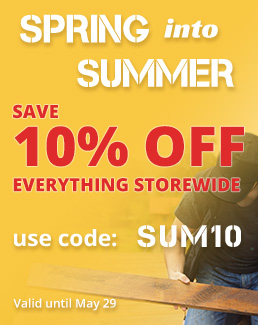 Spring into Summer - 10% off Storewide - Use coupon code SUM10 - Sale ends May 29, 2019