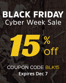 Black Friday Sale 15% Off Storewide - Use coupon code BLK15 - Sale ends Dec 7, 202